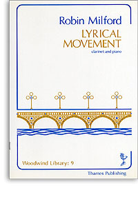 Lyrical Movement for Clarinet and Piano